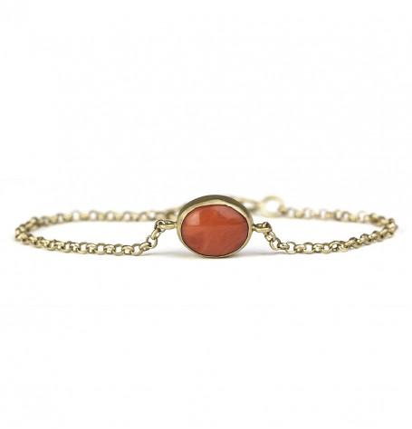 Reversible Coral bracelet