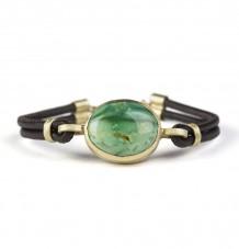 Turquoise reversible pave diamond bracelet