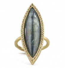 Marquise Kyanite Ring