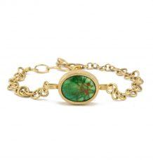Pave Turquoise Bracelet