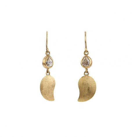Diamond Paisley earrings