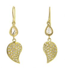 Paisley Pave diamond Earrings