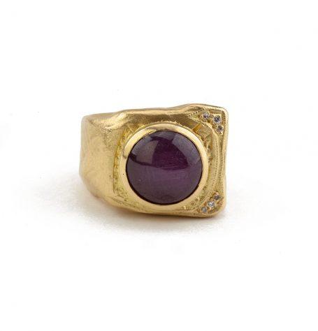 Star Ruby Ring