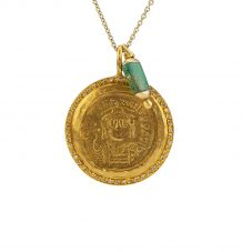 Antique gold coin
