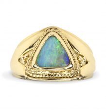 Opal Granulation Ring