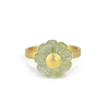 Carved Flower ring